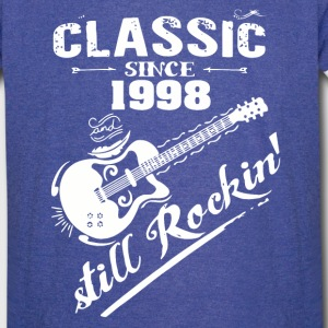 Classic Since 1998 and still Rokin - Vintage Sport T-Shirt