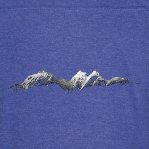 Mountains at Night - Vintage Sport T-Shirt