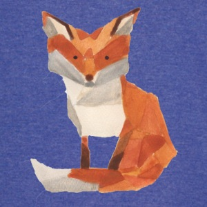 Watercolor Fox - Vintage Sport T-Shirt