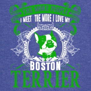 Love Boston Terrier Shirts - Vintage Sport T-Shirt