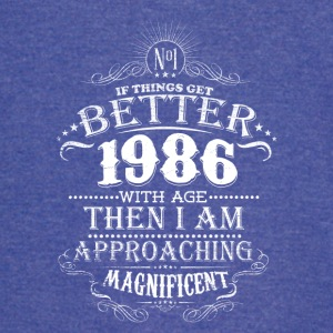 Vintage Born In 1986 30 Years Old Birthday T-Shirt - Vintage Sport T-Shirt