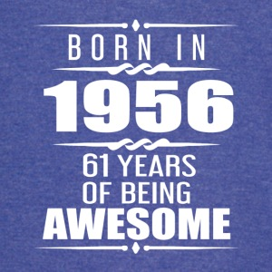 Born in 1956 61 Years of Being Awesome - Vintage Sport T-Shirt