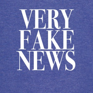 Very Fake News Trump Tee Shirt - Vintage Sport T-Shirt