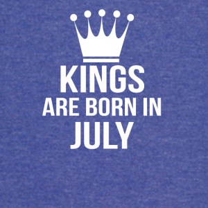 kings are born in july - Vintage Sport T-Shirt
