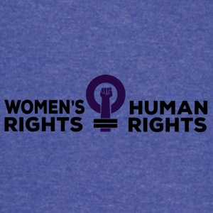 Women's Rights = Human Rights - Vintage Sport T-Shirt