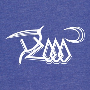 Y2000 White Abstract Logo #2 - Vintage Sport T-Shirt