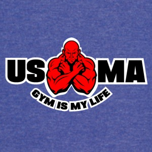 GYM IS MY LIFE - Vintage Sport T-Shirt