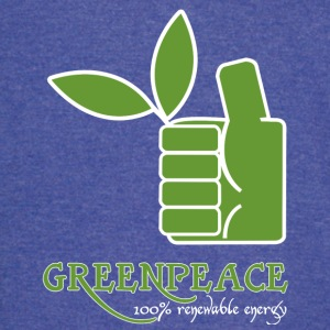 Greenpeace 100 renewable energy - Vintage Sport T-Shirt