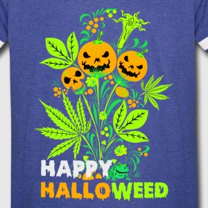 Happy Halloweed t-shirt - Vintage Sport T-Shirt