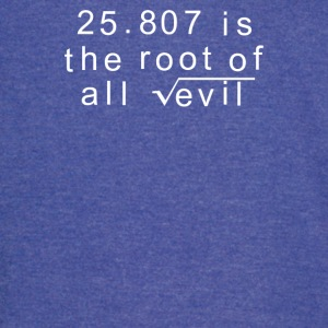 Maths 666 Root of all Evil - Vintage Sport T-Shirt
