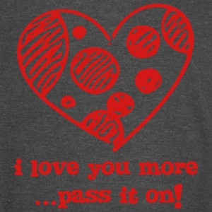 I Love You More - Freehand - Vintage Sport T-Shirt
