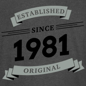 Established since 1981 - Vintage Sport T-Shirt