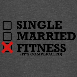 Single - Married - Fitness - Vintage Sport T-Shirt