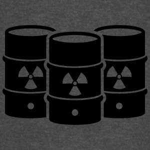 Nuclear waste - say no! - Vintage Sport T-Shirt