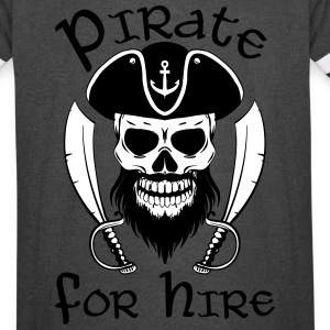 Pirate For Hire - Vintage Sport T-Shirt