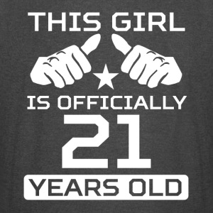 This Girl Is 21 Years Funny 21st Birthday - Vintage Sport T-Shirt