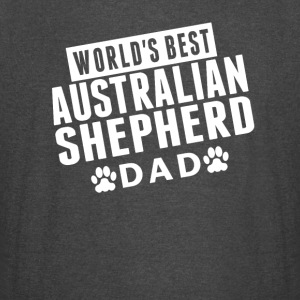 World's Best Australian Shepherd Dad - Vintage Sport T-Shirt