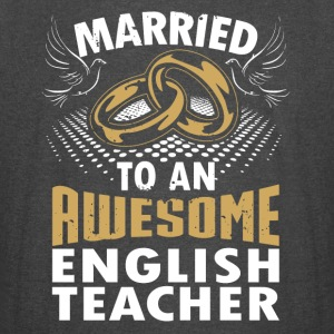 Married To An Awesome English Teacher - Vintage Sport T-Shirt