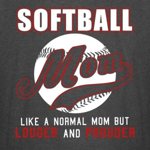 Softball Mom Like Normal Mom But Louder & Prouder - Vintage Sport T-Shirt