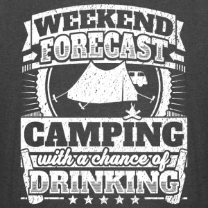 Weekend Forecast Camping Drinking Tee - Vintage Sport T-Shirt
