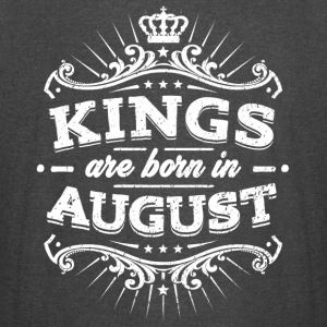Kings Are Born In August Birthday Shirt - Vintage Sport T-Shirt