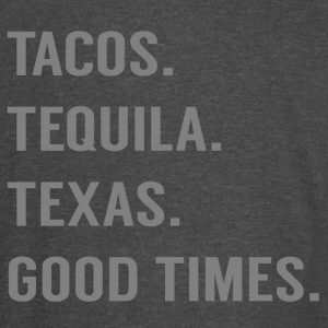 Tacos and More (Grey) - Vintage Sport T-Shirt