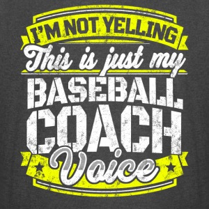 Funny Baseball coach: My Baseball Coach Voice - Vintage Sport T-Shirt