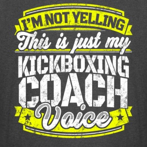 Funny Kickboxing coach: My Kickboxing Coach Voice - Vintage Sport T-Shirt
