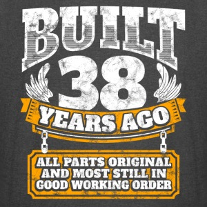 38th birthday gift idea: Built 38 years ago Shirt - Vintage Sport T-Shirt