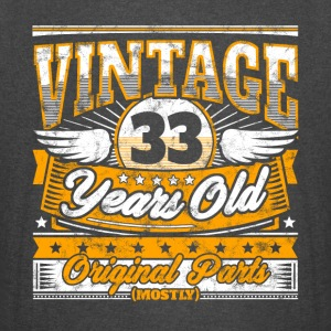 Funny 33th Birthday Shirt: Vintage 33 Years Old - Vintage Sport T-Shirt