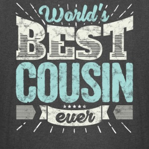 Cool family gift shirt: World's best cousin ever - Vintage Sport T-Shirt