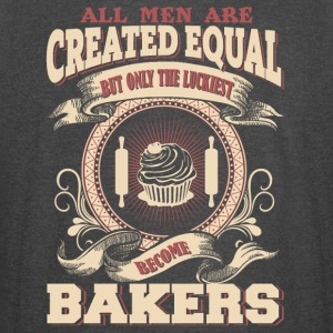 The Luckiest Men Become Bakers Dads - Vintage Sport T-Shirt