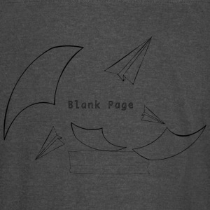 Blank Page Papers Flying - Vintage Sport T-Shirt