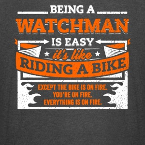 Watchman Shirt: Being A Watchman Is Easy - Vintage Sport T-Shirt