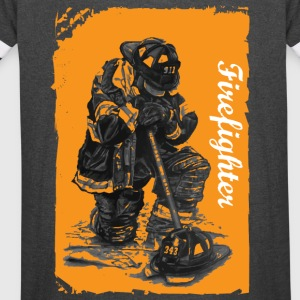 Firefighter - Vintage Sport T-Shirt