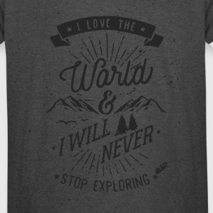 Explore the World - Vintage Sport T-Shirt