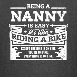 Nanny Shirt: Being A Nanny Is Easy - Vintage Sport T-Shirt