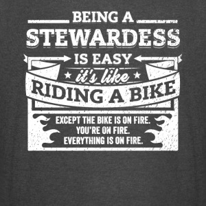 Stewardess Shirt: Being A Stewardess Is Easy - Vintage Sport T-Shirt