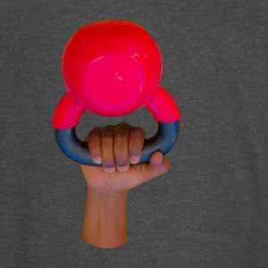 hand holding kettle bell - Vintage Sport T-Shirt