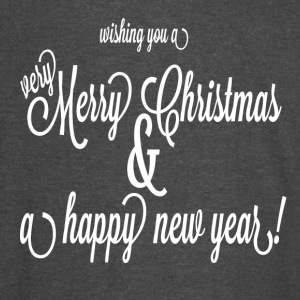 merry-christmas - Vintage Sport T-Shirt