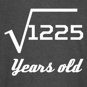 Square Root Of 1225 35 Years Old - Vintage Sport T-Shirt