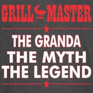 Grillmaster The Granda The Myth The Legend BBQ - Vintage Sport T-Shirt