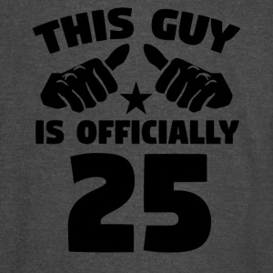 This Guy Is Officially 25 Years Old 25th Birthday - Vintage Sport T-Shirt