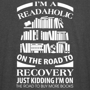 I'm A Readaholic On The Road To Discovery - Vintage Sport T-Shirt