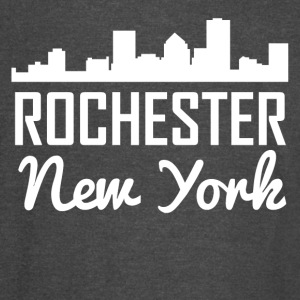 Rochester New York Skyline - Vintage Sport T-Shirt