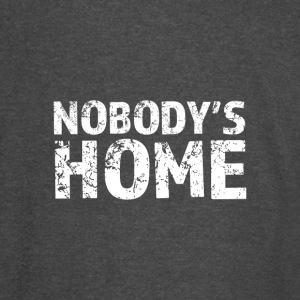 Nobody's Home - Vintage Sport T-Shirt