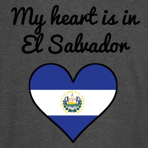 My Heart Is In El Salvador - Vintage Sport T-Shirt