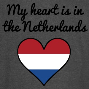 My Heart Is In the Netherlands - Vintage Sport T-Shirt