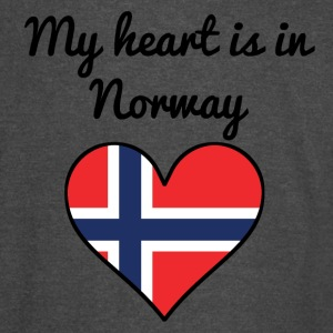 My Heart Is In Norway - Vintage Sport T-Shirt