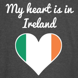 My Heart Is In Ireland - Vintage Sport T-Shirt